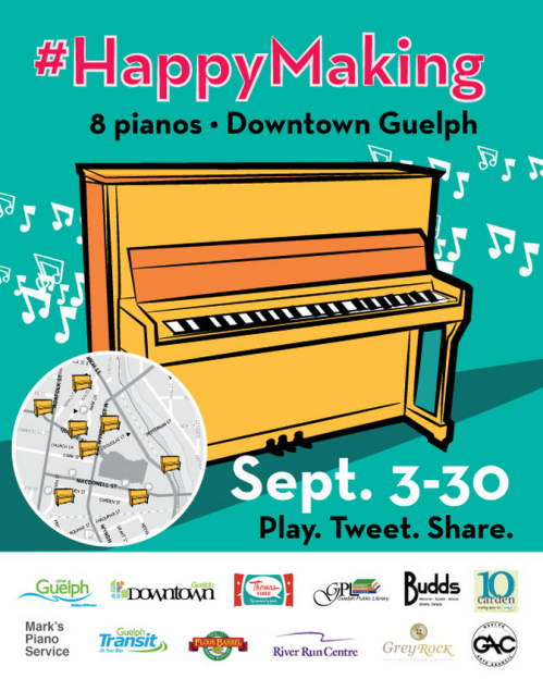 #HappyMaking Piano Poster