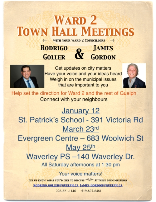 Town Hall Ward 2 Poster2